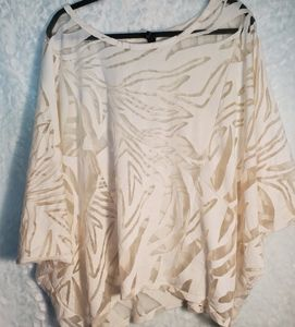 Lane Bryant Butterfly Sleeve Pullover Size 14/16